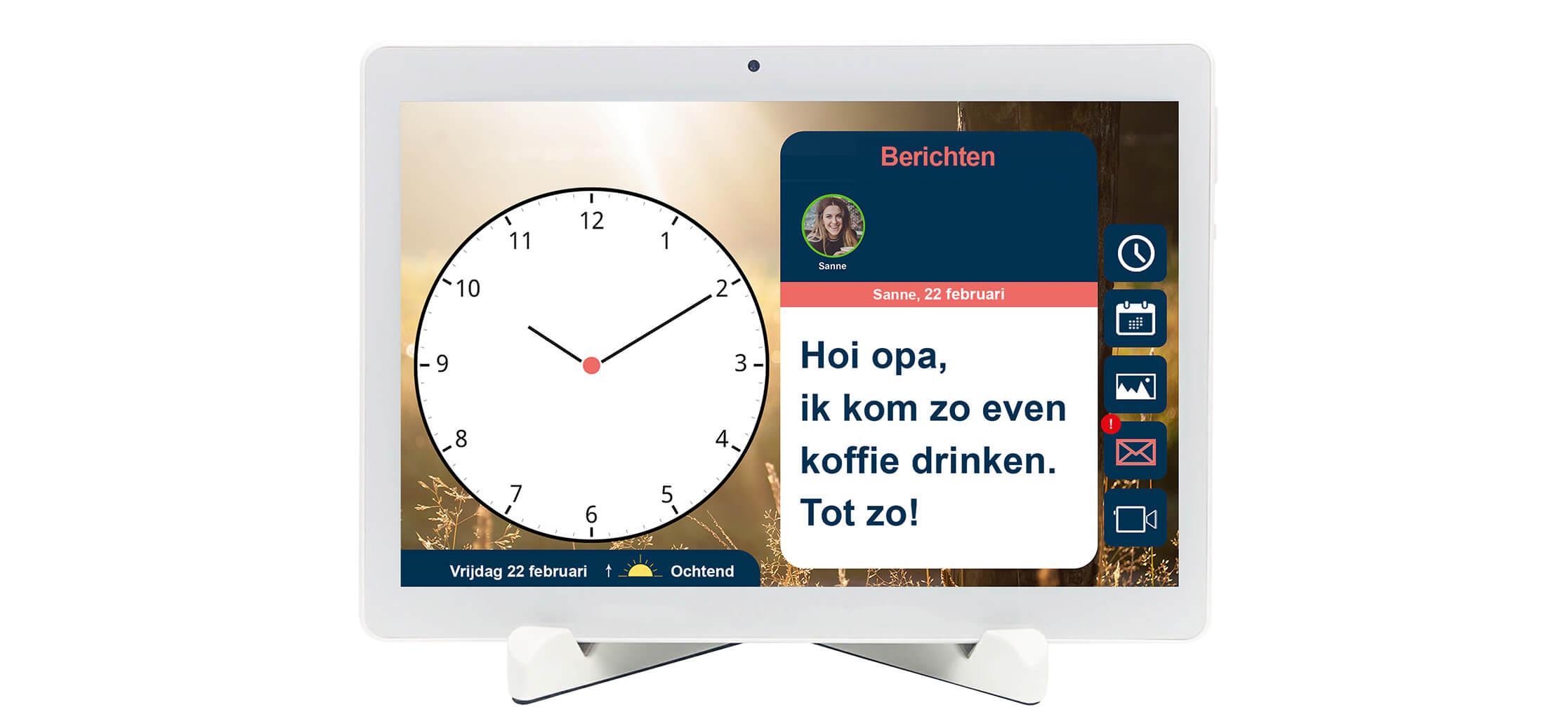 BBrain Family G2 - Berichtenfunctie - Nederlands