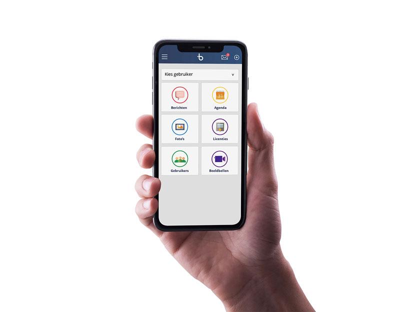 BBrain G2 Dashboard App mobiel