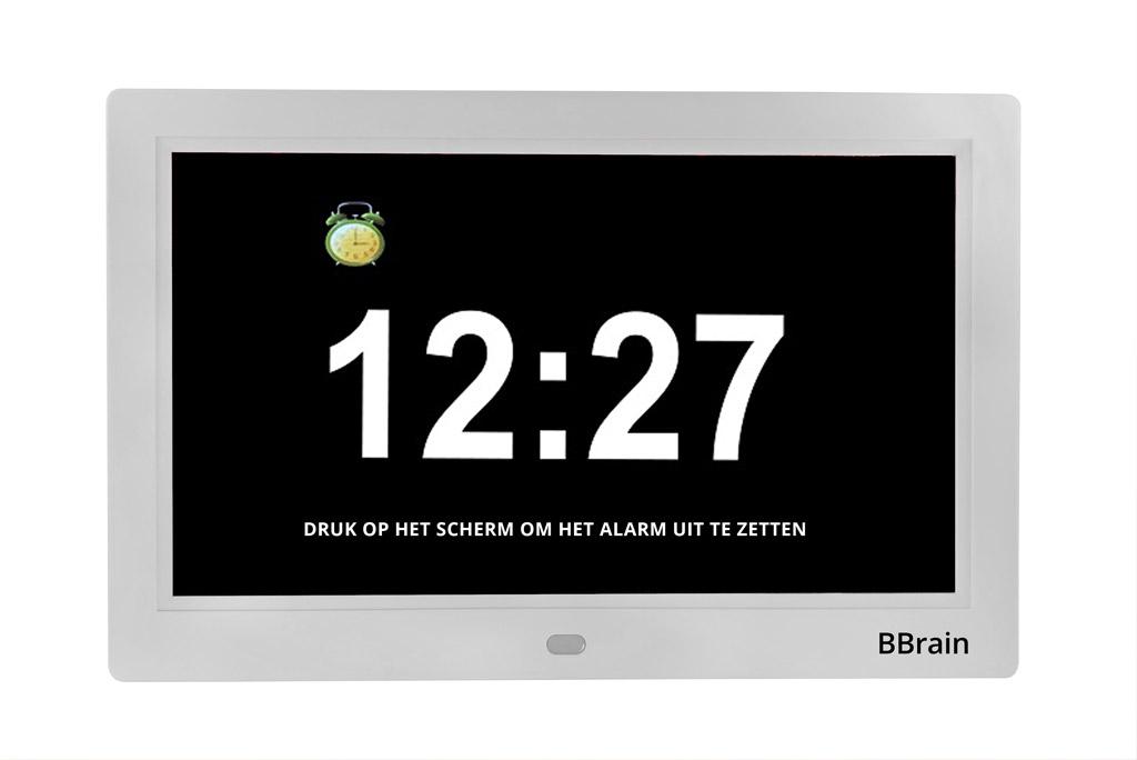 BBrain Basic - Wekker - Wit