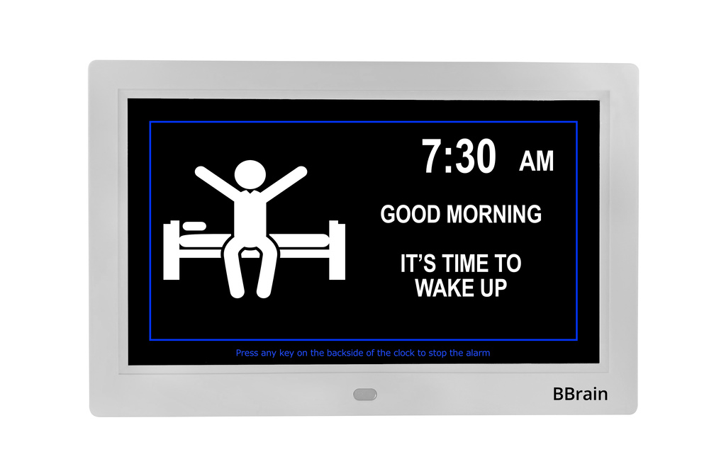 BBrain Basic Analog white - wake up