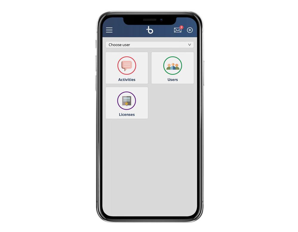 BBrain Family D2 - app